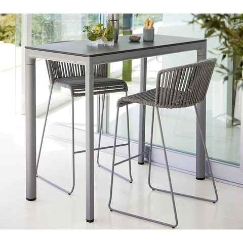 Image of Cane-line Moments Bar Chair Cane-line Soft Rope - 7445