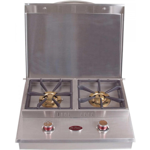Cal Flame Standard Side By Side Drop-In Built-In Double Propane Gas Side Burner - BBQ18953P