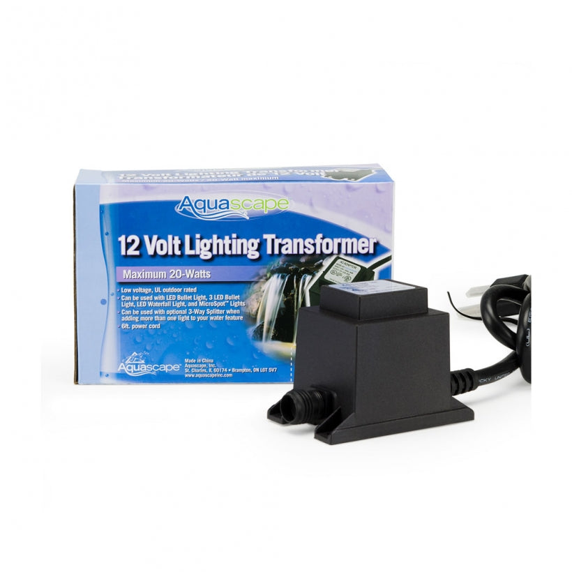 Aquascape 12V Quick-Connect Garden Light Transformers 98485