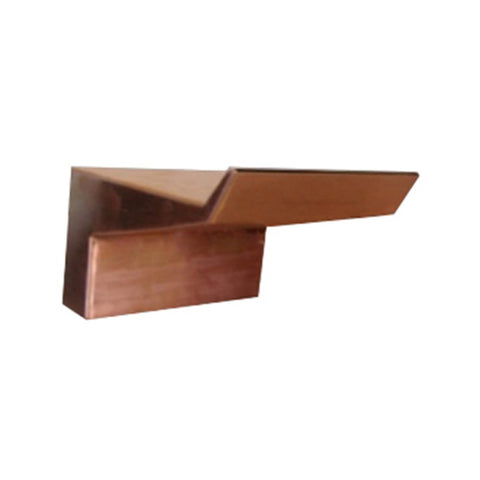 "The Outdoor Plus Arch Flow Scupper 24"" - Copper OPT-ARF24"