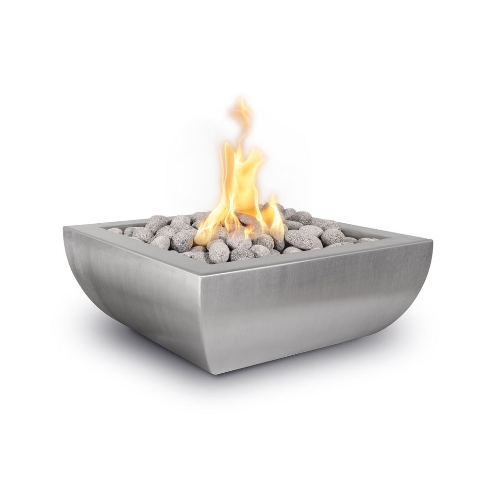 The Outdoor Plus Avalon SS Fire Bowl OPT-24AVSSFE12V
