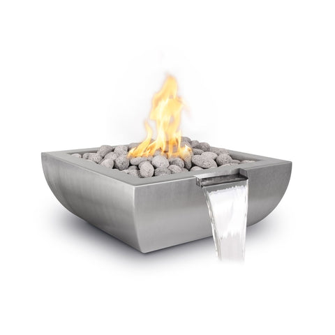 The Outdoor Plus Avalon SS Fire & Water Bowl OPT-36AVSSFWE12V