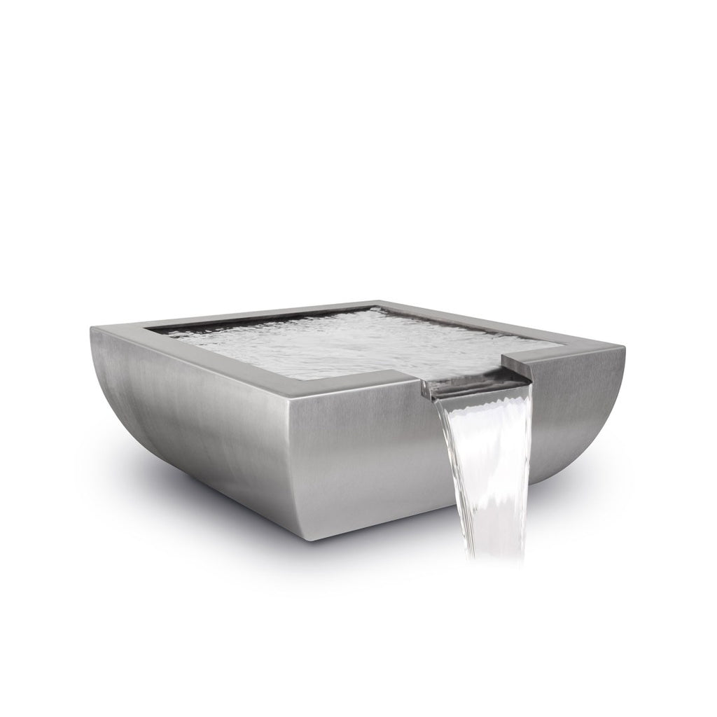 The Outdoor Plus Avalon Water Only Bowl - Stainless Steel OPT-36AVSSWO