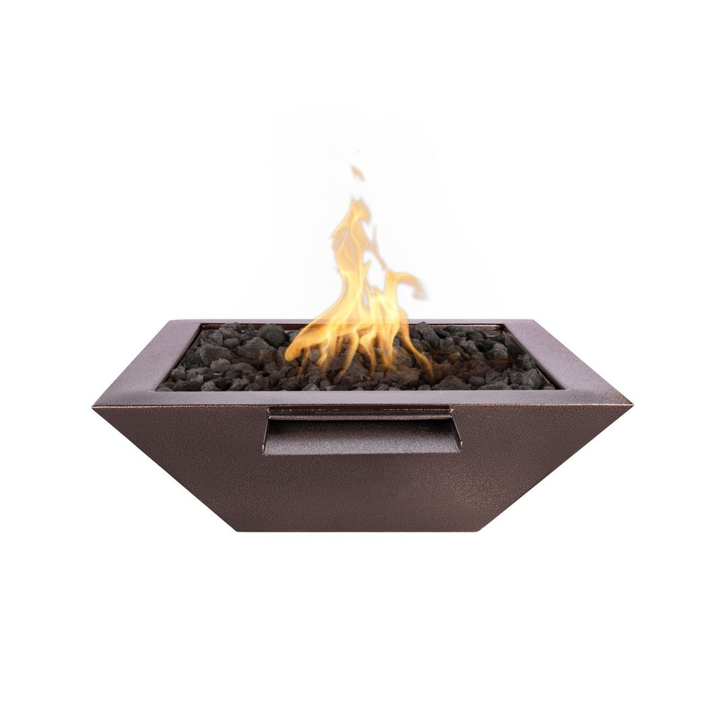 The Outdoor Plus Maya Fire Bowl Electronic Ignition OPT-36SQPCFOE12V