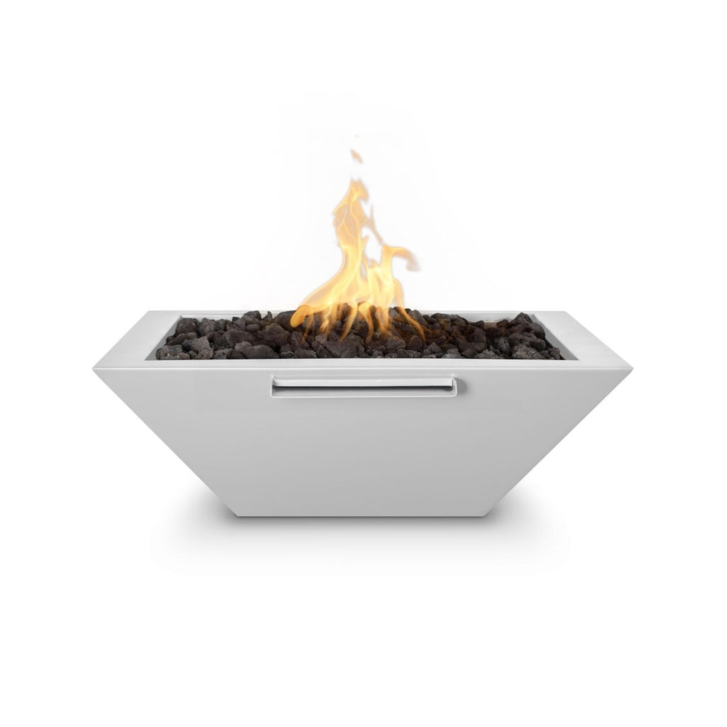 The Outdoor Plus Maya Fire Bowl Electronic Ignition OPT-24SQPCFOE12V