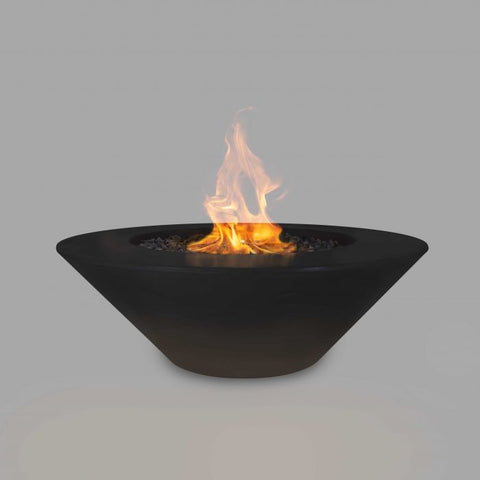 "Image of The Outdoor Plus Cazo Concrete Fire Pit - 48"" - Electronic Ignition OPT-CZ48EKIT"