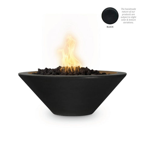 "Image of The Outdoor Plus Cazo Fire Bowl, Electronic Ignition 31"" - OPT-31RFOE12V"