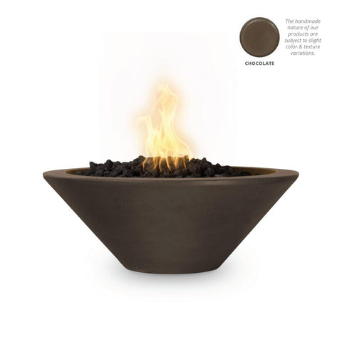 "Image of The Outdoor Plus Cazo Fire Bowl, Electronic Ignition 36"" - OPT-36RFOE12V"
