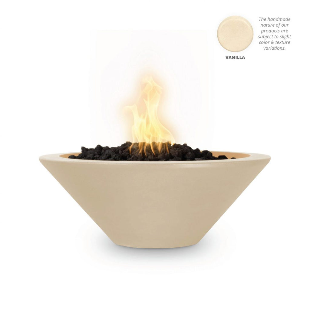 "The Outdoor Plus Cazo Fire Bowl, Electronic Ignition 36"" - OPT-36RFOE12V"