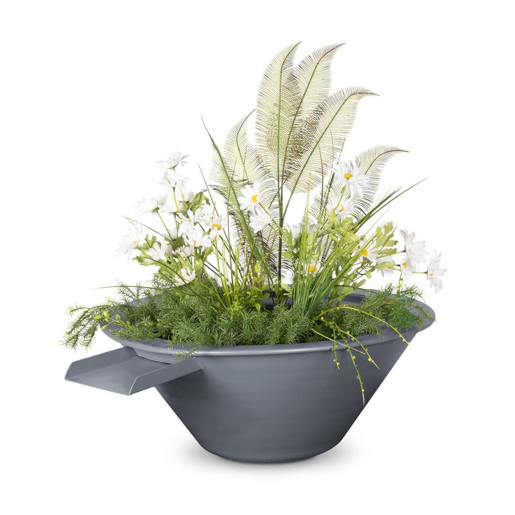 "The Outdoor Plus Cazo Planter with Water Bowl  30"" - OPT-R30PCPW"