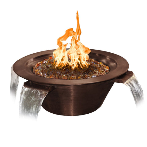 "Image of The Outdoor Plus Cazo 4-Way Water & Fire Bowl - 36"" - OPT-4W36"