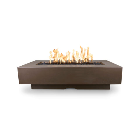 "The Outdoor Plus Del Mar 72"" Concrete Fire Pit - Electronic Ignition OPT-DEL7228EKIT"
