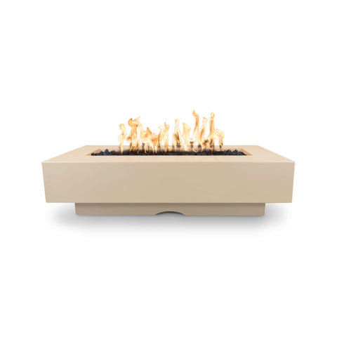 "The Outdoor Plus Del Mar 96"" Concrete Fire Pit - Electronic Ignition OPT-DEL9628EKIT"