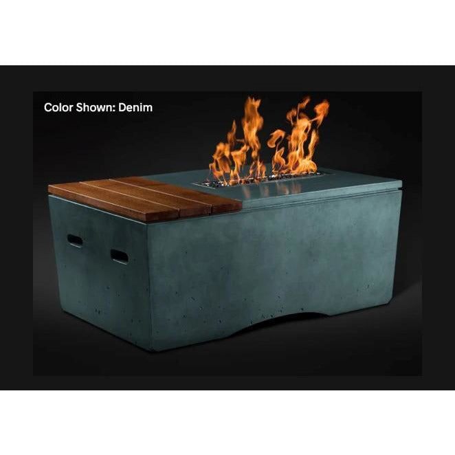 "Slick Rock Concrete 48"" Oasis Fire Table with Electronic Ignition KOF48EING"