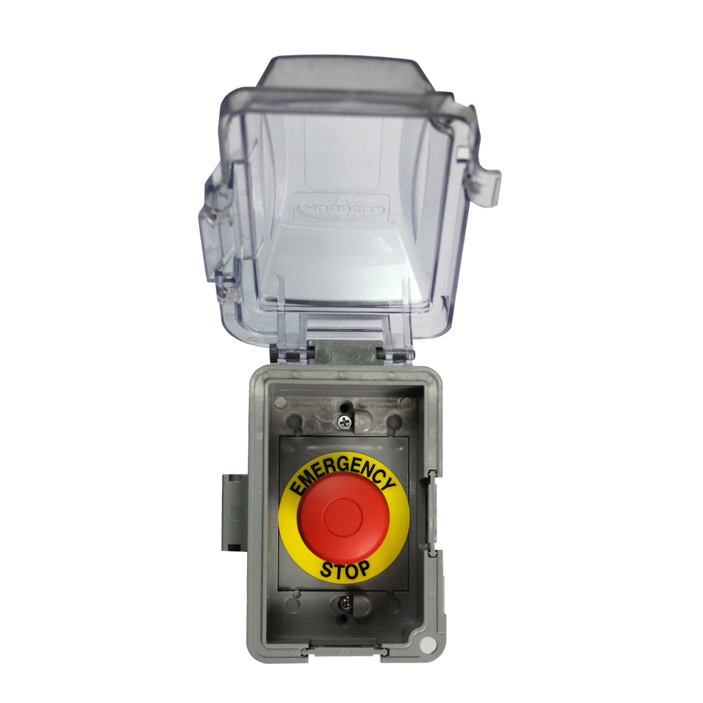 The Outdoor Plus Emergency Stop Button OPT-ESTOP
