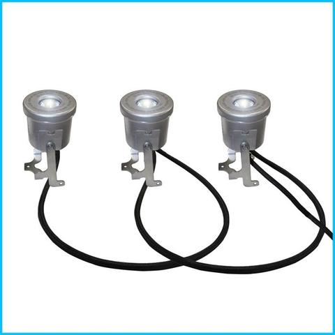 Kasco Stainless Steel Housing 3 Fixture LED Fountain Light Kit