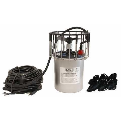 Kasco 1/2 HP Surface Pond Aerator with Float and Bottom Screen 2400AF