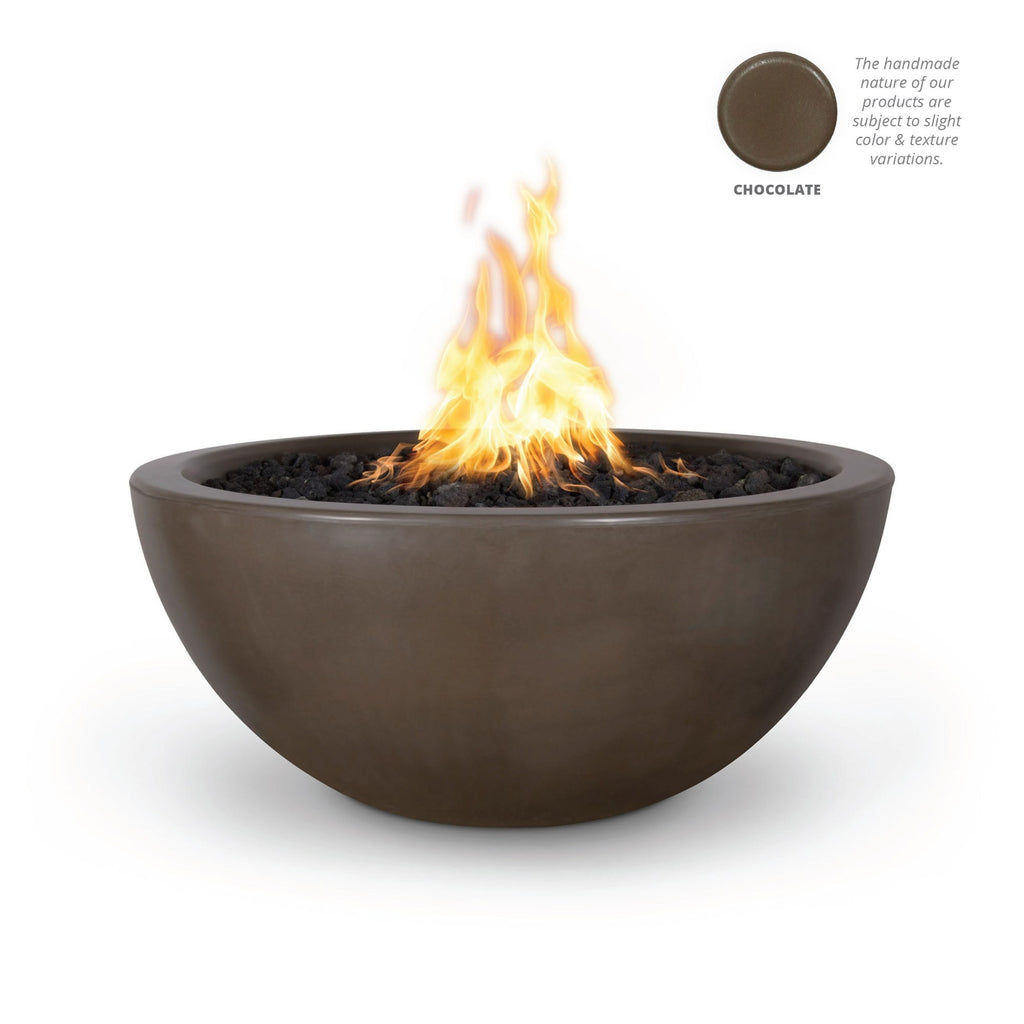 "The Outdoor Plus Luna Fire Bowl, Electronic Ignition Package of  1 - 38"" - OPT-LUNFO38E12V"
