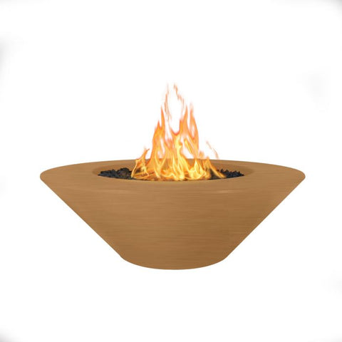 "Image of The Outdoor Plus Cazo Fire Pit - Narrow Lip - 60"" - Electronic Ignition OPT-CZNL60EKIT"