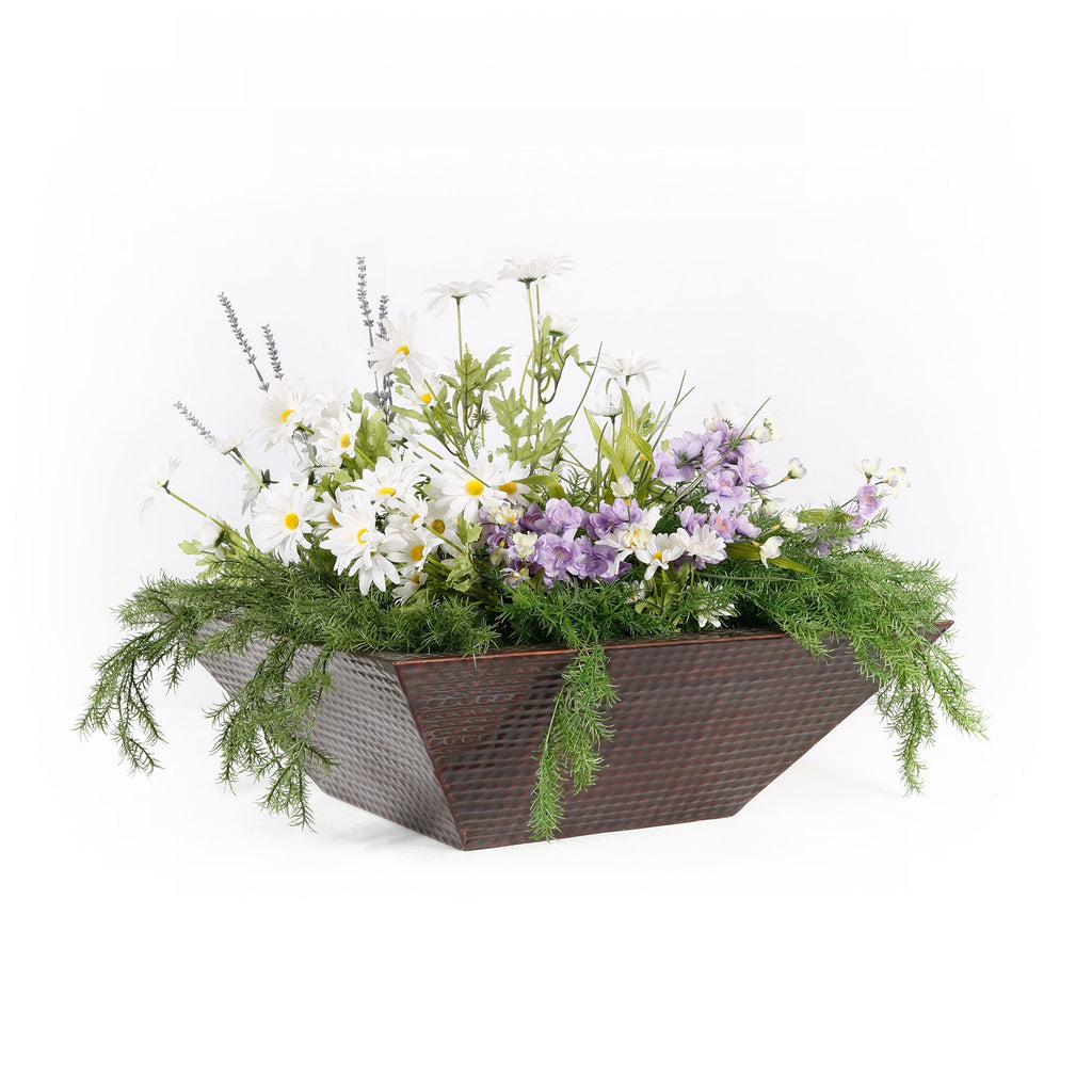 "The Outdoor Plus Maya Planter Bowl - Copper - 36"" x 36"" - OPT-36SCPO"