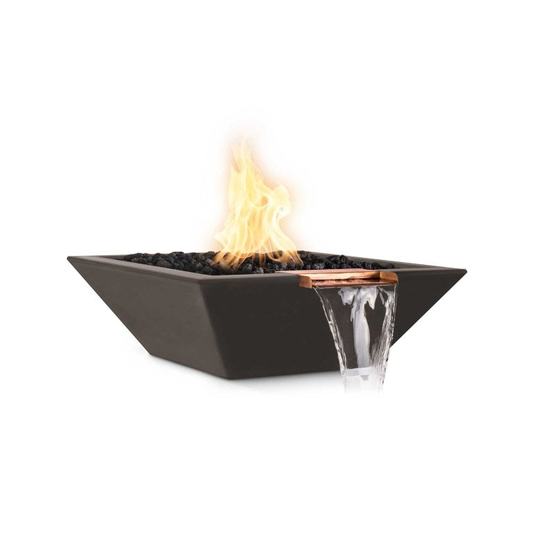 "The Outdoor Plus Maya Fire & Water Bowl, Electronic Ignition Package of  4 - 30"" - OPT-30SFWE12V-4"