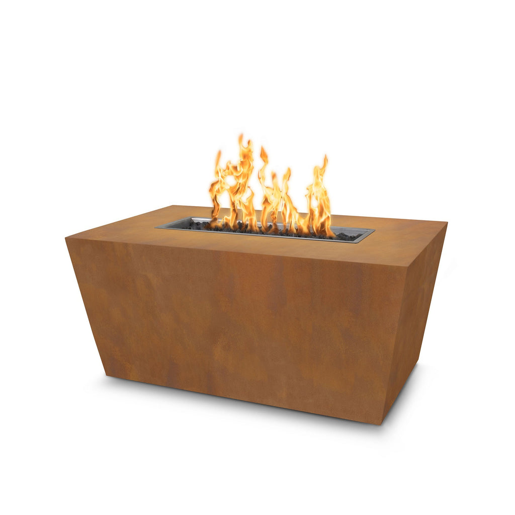"The Outdoor Plus Mesa Fire Pit - Corten Steel - Electronic Ignition 48"" OPT-CSTT4824EKIT"