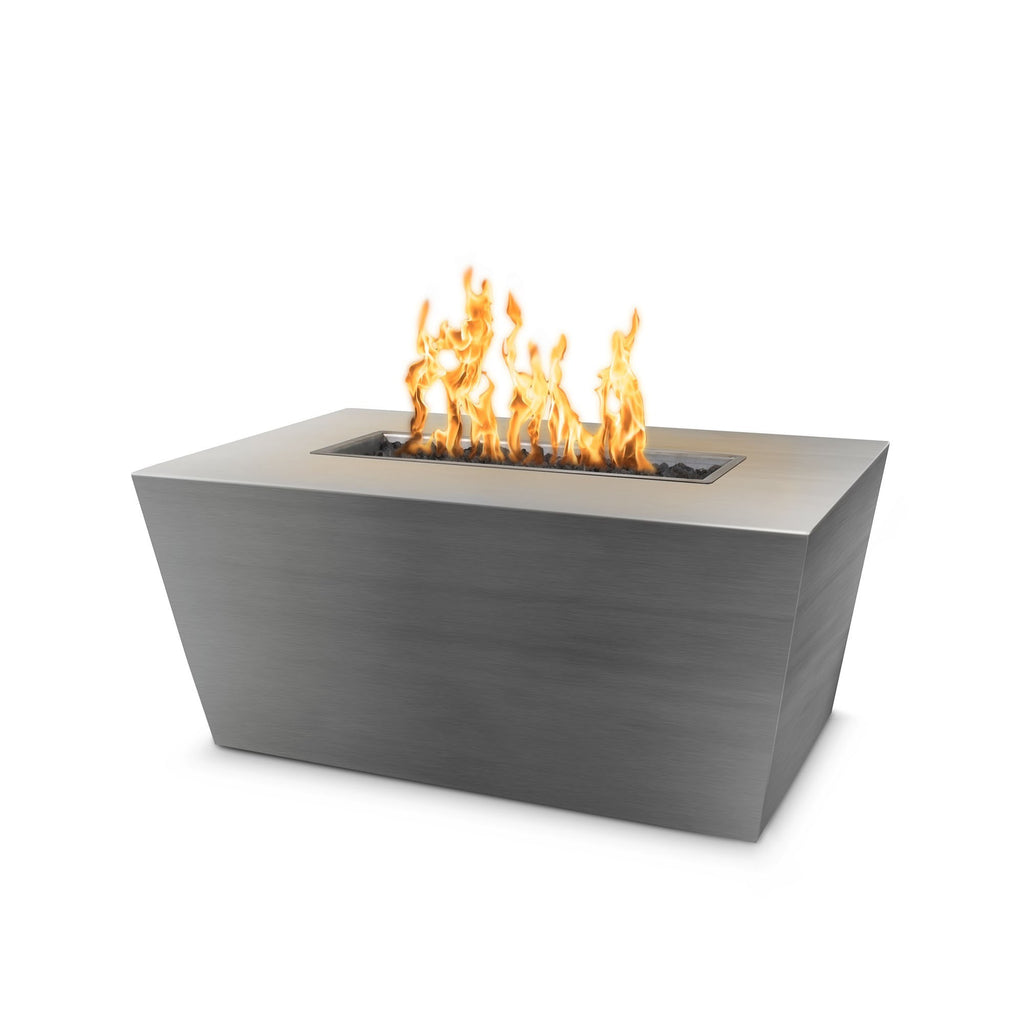 "The Outdoor Plus Mesa Fire Pit - Stainless Steel 72"" OPT-SSTT7224"