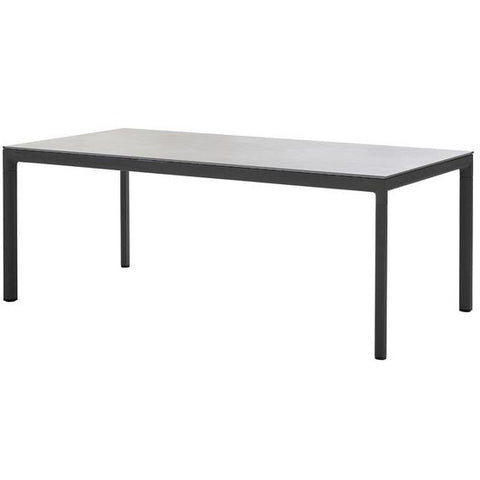 Image of Cane-line Drop Dining Table Base 200x100 cm - 50406
