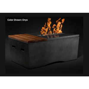 "Slick Rock Concrete 48"" Oasis Fire Table with Electronic Ignition KOF48EILP"