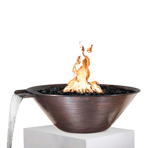 "The Outdoor Plus Remi Fire & Water Bowl - Electronic Ignition  - 31"" - OPT-31RCFWE12V"