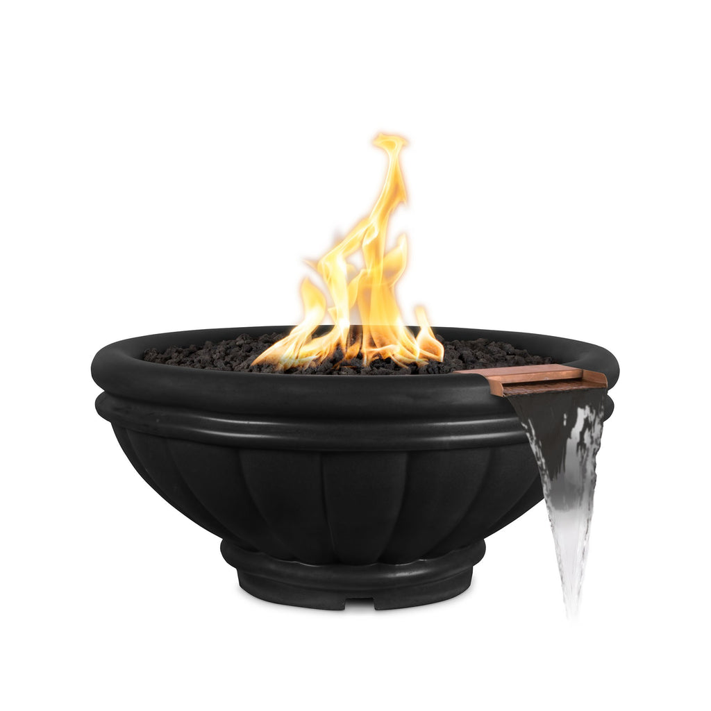 "The Outdoor Plus Roma Fire Bowl, Electronic Ignition Package of  4 - 24"" - OPT-ROM24E12V-4"