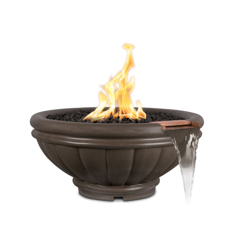 "Image of The Outdoor Plus Roma Fire Bowl, Electronic Ignition Package of  4 - 24"" - OPT-ROM24E12V-4"