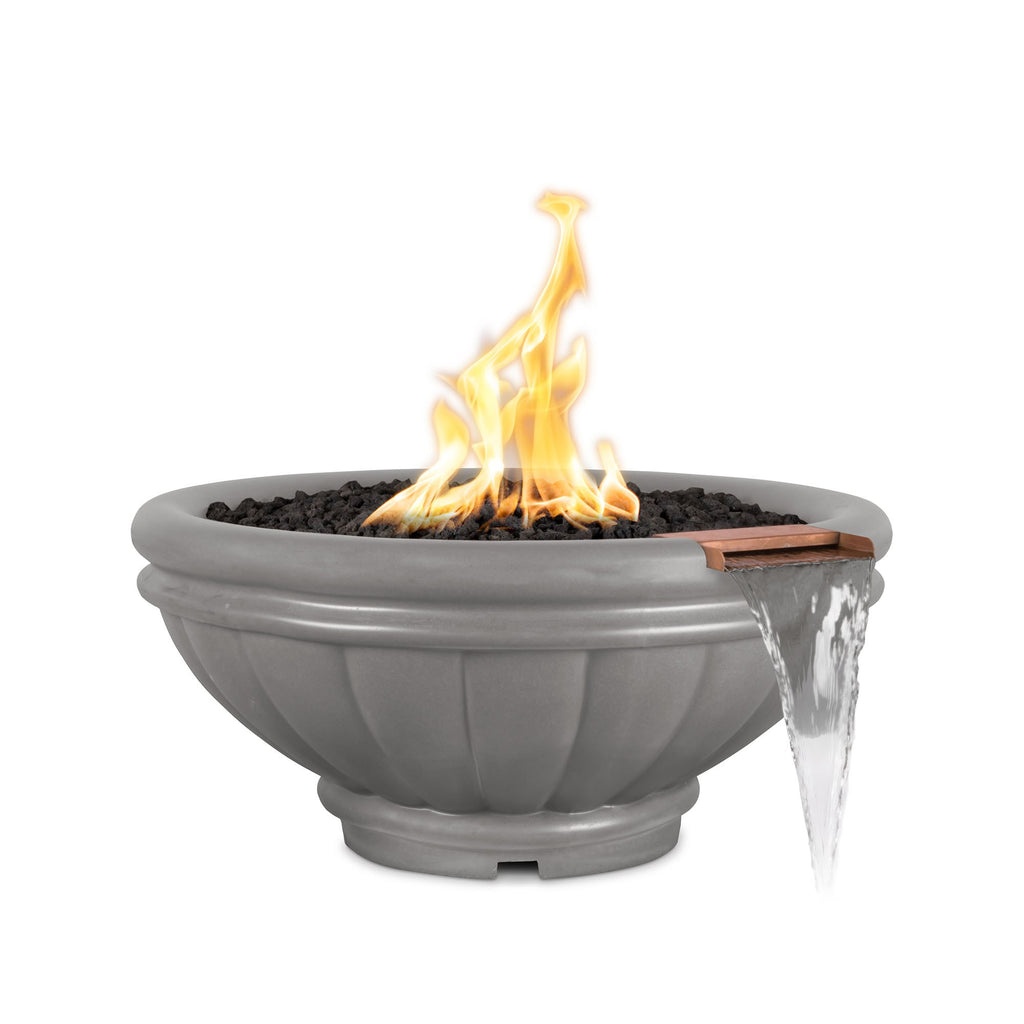 "The Outdoor Plus Roma Fire Bowl, Electronic Ignition 24"" - OPT-ROM24E12V"