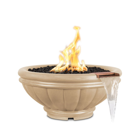 "Image of The Outdoor Plus Roma Fire & Water Bowl, Electronic Ignition 37"" - OPT-ROMFW37E12V"