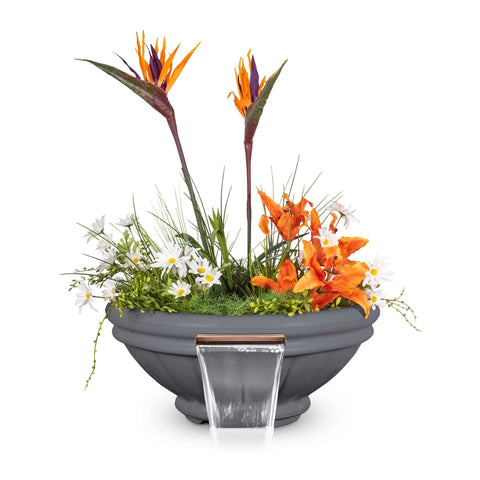 "Image of The Outdoor Plus Roma Planter Bowl with Water - 37"" - OPT-ROMPW37"