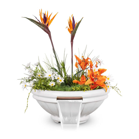 "Image of The Outdoor Plus Roma Planter Bowl with Water - 24"" - OPT-ROMPW24"