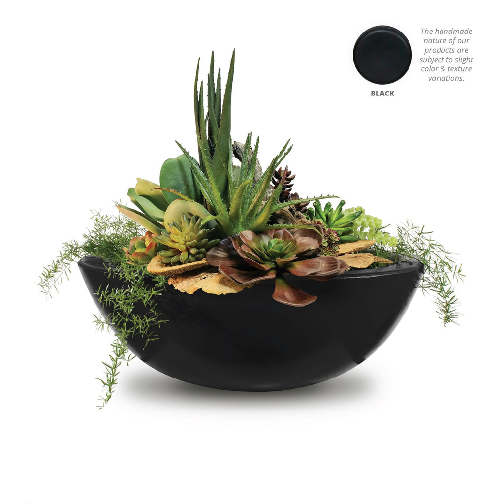 "The Outdoor Plus Sedona Planter Bowl with Water - 33"" - OPT-33RPW"