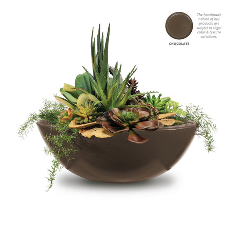 "Image of The Outdoor Plus Sedona Planter Bowl - 33"" - OPT-33RP"