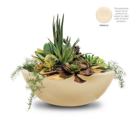 "Image of The Outdoor Plus Sedona Planter Bowl with Water - 33"" - OPT-33RPW"