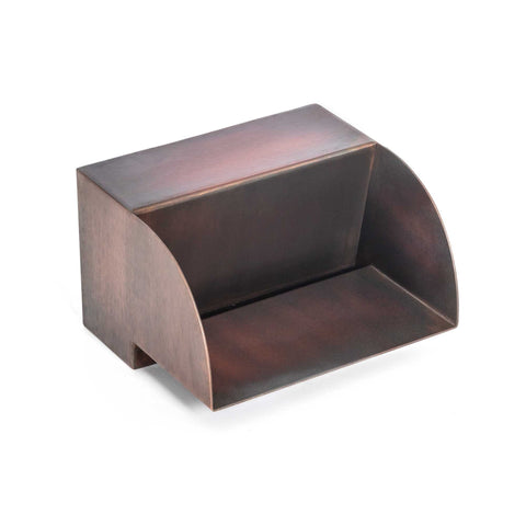 "The Outdoor Plus Smooth Flow Radius Scupper 12"" - Copper OPT-SFR12"