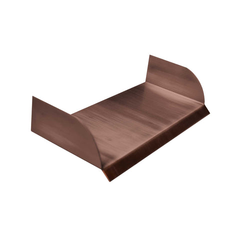 "The Outdoor Plus Straight Spillway 10"" - Copper OPT-SS10"