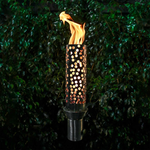 Image of The Outdoor Plus TOP-LITE Torch #14 - Stainless Steel OPT-TCH14SS