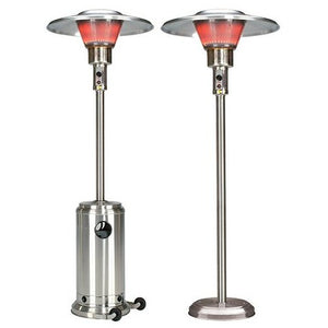 Schwank IR Fixed Mount Stainless Steel Commercial Outdoor Patio Heater - Natural Gas - PS-4SN5-CB