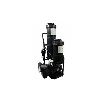 Advantage DOUBLE FILTER POND DUAL-POND-FILTER-VACUUM