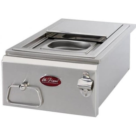 Cal Flame 12-Inch Built-in Cocktail Center With Ice Bin Cooler - BBQ12842P-12