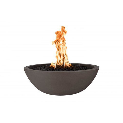 "Image of The Outdoor Plus Sedona Concrete Fire Pit - 60"" - Electronic Ignition OPT-SED60EKIT"