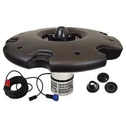 Anjon 1/2 HP Aerating Display EcoFountain 200' Cord With Quick Disconnect AEF15000-200QD