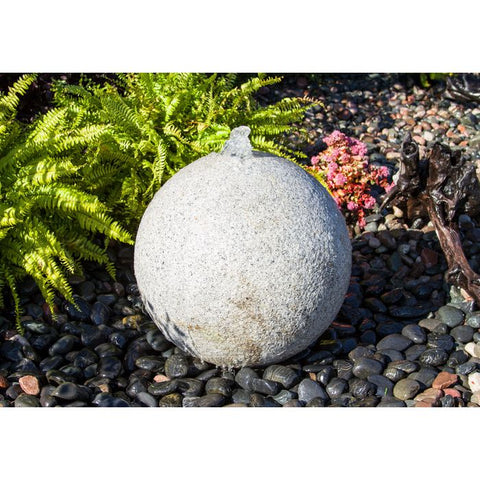 Image of Blue Thumb Fountain Kit - 24″ Granite Sphere ABGS24K - ProYardSupply