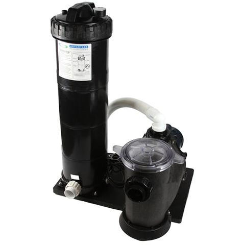 Advantage 1.5HP/150 Sq. Ft. Cartridge Filter Pump System QFSP1.5/150