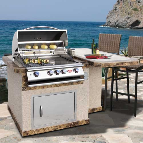 Cal Flame 77-inch Luxury BBQ Kitchens - LBK-402